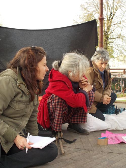 Katia, Dominique et Martine : « Le pire ennemi en ce moment : le froid ! »
